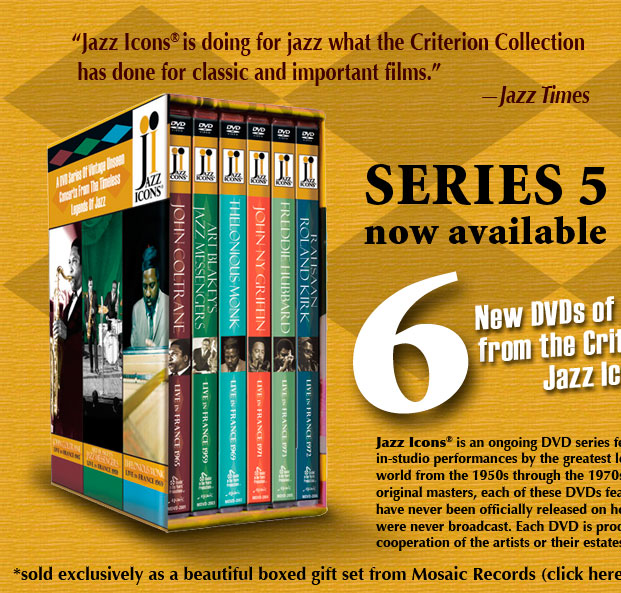 Jazz Icons: DVD Series 5 Home